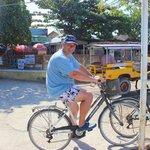 Ready for a bike tour at Gili Trawangan