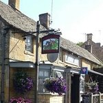 The front of the pub