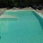 la bellissima piscina!!