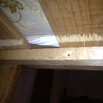 exposed nails under our kids bunk bed!!!!!