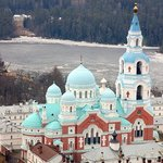 Valaam Monastery & Cathedral in winter
