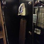 Iron & ironing board plus the prayer mat