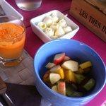 Frühstückstisch in B&B In the Sun