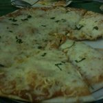 Leona's Art Restaurant - Three Cheese Pizza