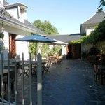 Courtyard/Entrance/outside breakfast area