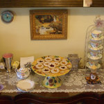 Afternoon tea is available to guests of the Sabal Palm House B&B every day starting at 3:00 PM.