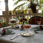 Guest of the Sabal Palm House B&B enjoy a full breakfast every morninng starting with fresh-brew