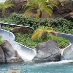 Paradise pool slide not working