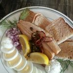 Smoked Trout plate