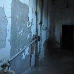 A hallway on the first floor...