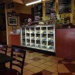 bagel counter
