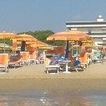 Spiaggia hotel Bertha