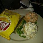 Chicken/Artichoke Salad & Pimento Cheese