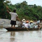 Canoe tour on the Bobonaza River