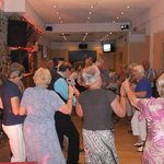 Dance floor and entertainment