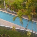 view of pool from the Valley View Room