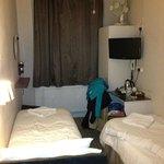 Tiny roasting bedroom