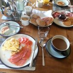 Frühstück im Culgower House