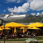 The Riffelalp Resort - with the surrounding mountains