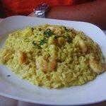 risotto curry e gamberetti