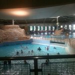 part of the swimming baths......