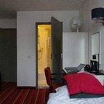 Bedroom looking 'in'
