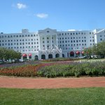 Front of Greenbrier Resort