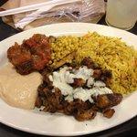 Rice-Chicken Plate