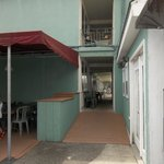 breezeway entrance from back patio