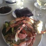 Crab dinner special Wednesday's Steamers of Pismo Beach