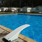 Prancha da piscina