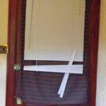 main bedroom door