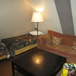 Room 7 lounge area
