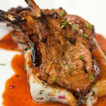 grilled cotswold lamb cutlet
