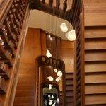 Prachtig mooi trappenhuis