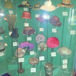 a display of hats to be found