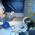 discussing important hatting issues with Mad Hatter etc