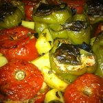 Stuffed vegetables(Gemista)