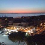 Veduta dell'Argentario al tramonto,foto dalla mia camera