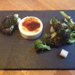 Truffled broccoli