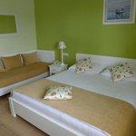Notre belle chambre avec son grand lit