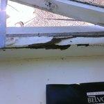 rotten window frame