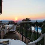 Sunset from Room Balcony