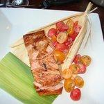 Ancho-Rubbed Salmon