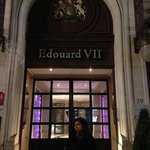 hotel's stunning entrance