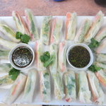 Summer roll platter for parties