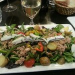 Nicoise salade with Anchovy