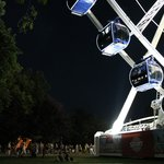 Sziget Eye - great for people watching and riding the wheel!