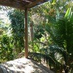 Nossa varanda do bangalô