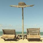 Barraca de praia Uxuá na praia do Rio verde